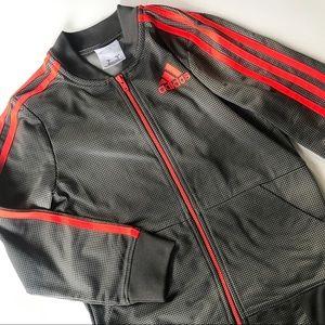 Boy's Size 6 Adidas Full Zip Sweatshirt Jacket